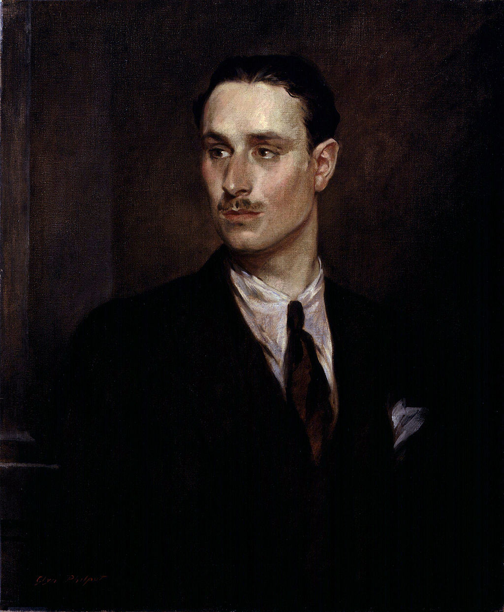 Sir Oswald Mosley 6th Bt by Glyn Warren Philpot